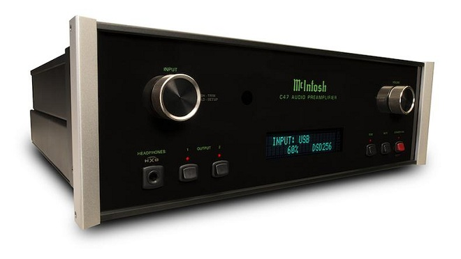 McIntosh ra mắt pre-amp kỹ thuật số C47