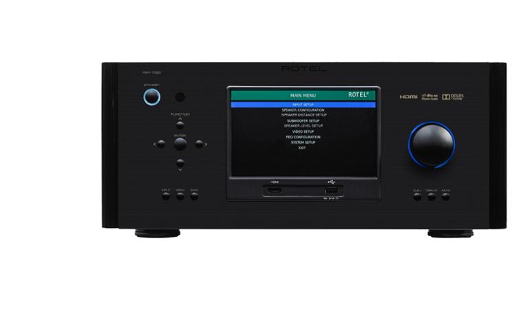 Rotel ra mắt pre-amp đa kênh/bộ xử lý đa kênh RSP-1582