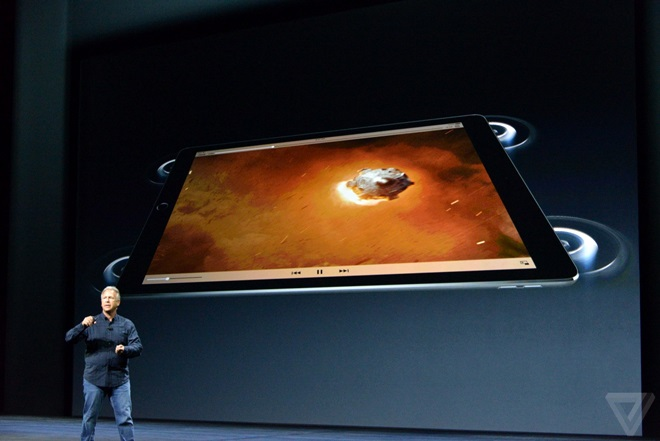 Apple giới thiệu iPad Pro: 13inch, 4 loa ngoài, có bàn phím rời