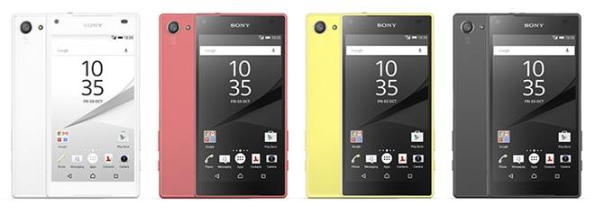 Sony ra mắt smartphone Xperia Z5, có phiên bản màn hình 4K