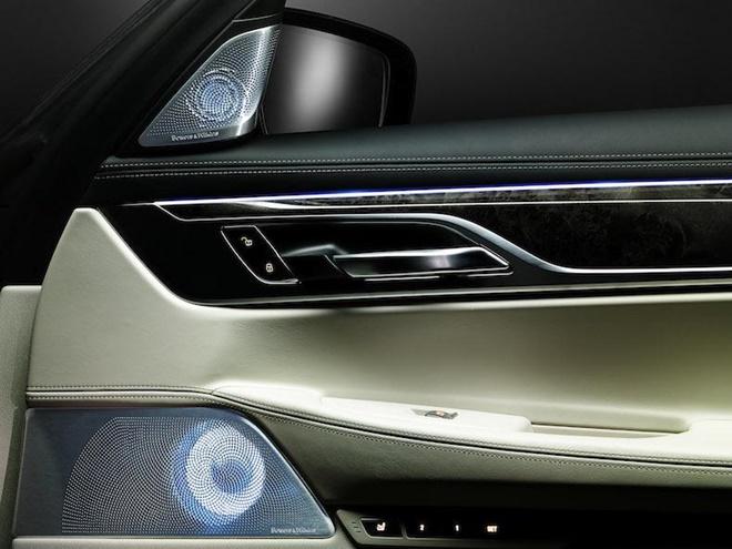 Bowers & Wilkins giới thiệu hệ thống loa Diamond cho xe BMW Series-7