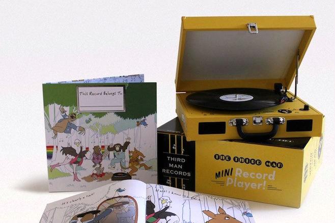 Jack White ra mắt bộ đĩa nhựa đặc biệt cho trẻ em