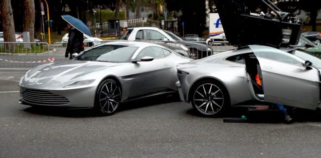 Mãn nhãn với dàn siêu xe sẽ xuất hiện trong '007: Spectre'