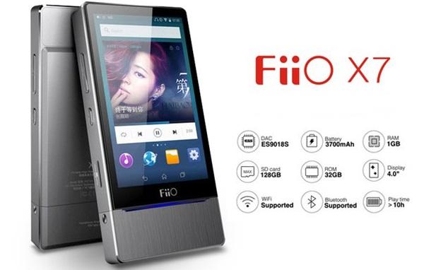 Fiio X7 chính thức ra mắt, chơi nhạc 64-bit, dự kiến 699USD