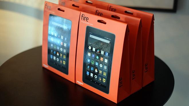 Amazon ra mắt 3 tablet mới, giá chỉ từ 50 USD