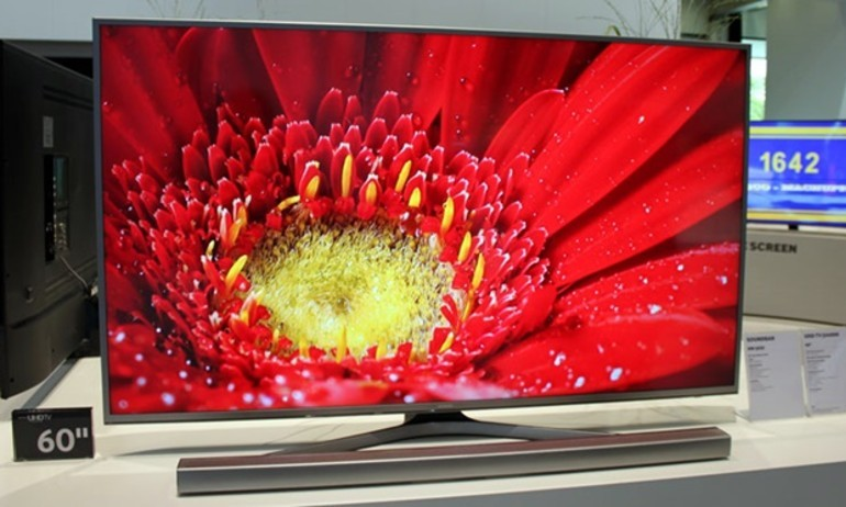 Samsung ra mắt SmartTV JU6800: vừa 4K, vừa chấm lượng tử