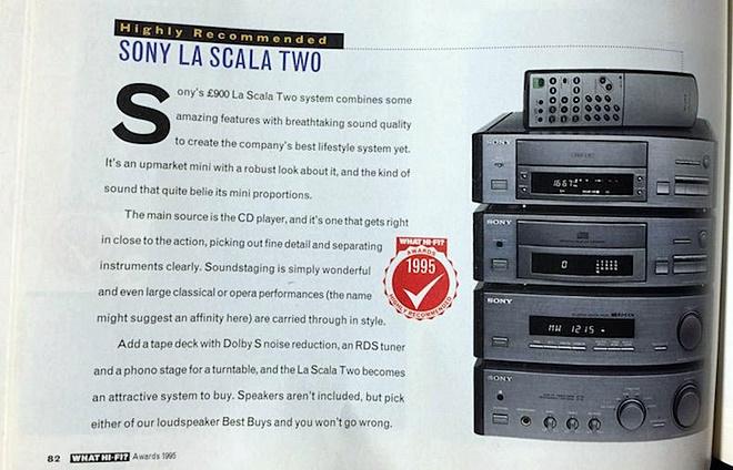 Điểm mặt những lần Sony xuất hiện trong lịch sử What Hi-fi Awards