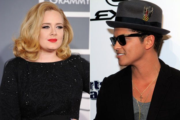 """Adele và Bruno Mars """"hợp lực"""" trong album '25'"""