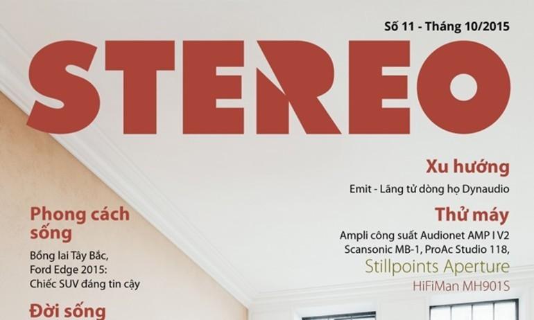 Tạp chí Stereo số 11: tháng 10/2015