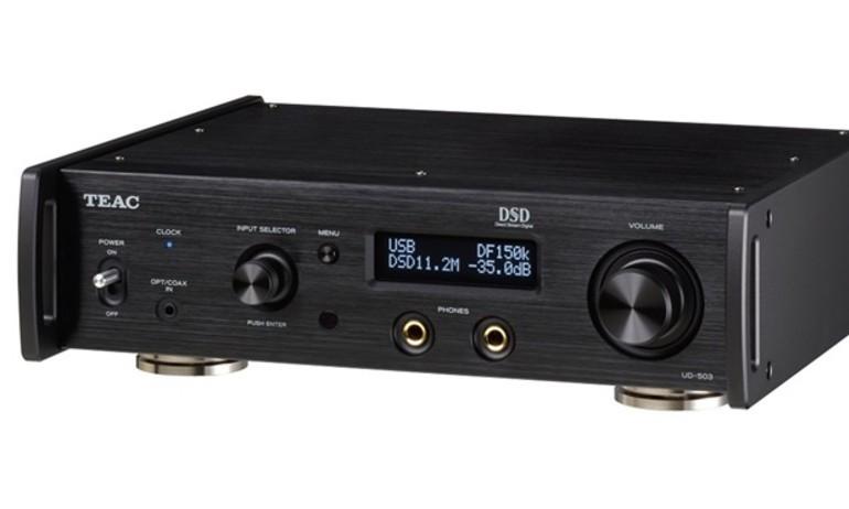 TEAC ra mắt 2 bộ USB DAC dòng 503 cho tai nghe và kiêm music server
