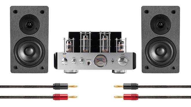 Monoprice giới thiệu hệ thống loa kèm ampli đèn giá 200USD