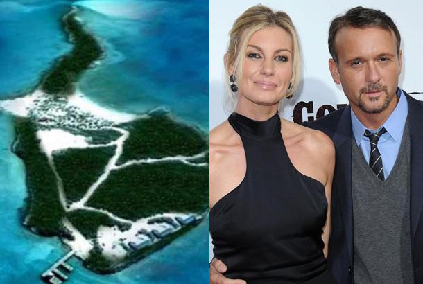 Chán mua nhà, sao Hollywood chuyển sang mua … đảo