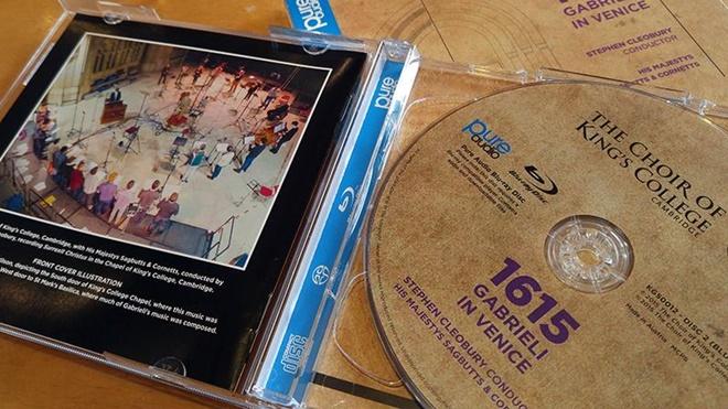 Dolby giới thiệu đĩa CD nhạc đầu tiên hỗ trợ chuẩn Atmos