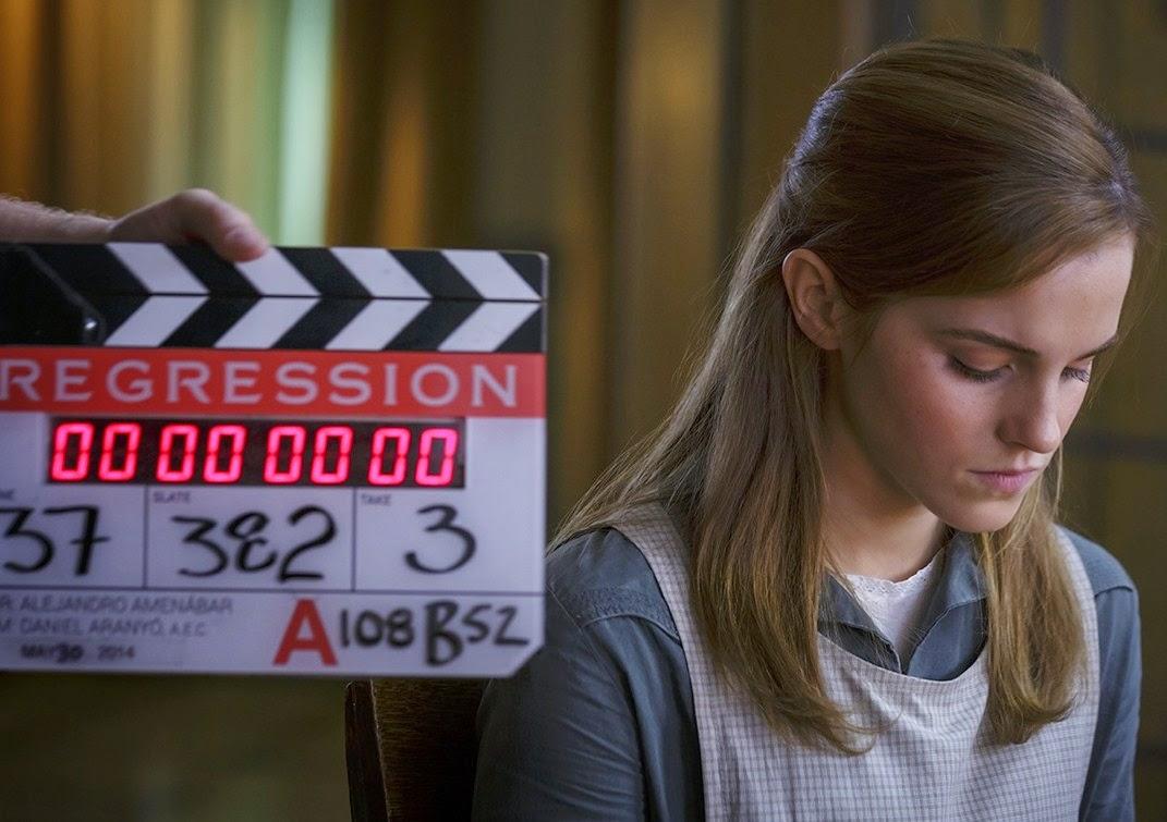 """Emma Watson """"rũ bỏ"""" hình tượng trong phim kinh dị 'Regression'"""