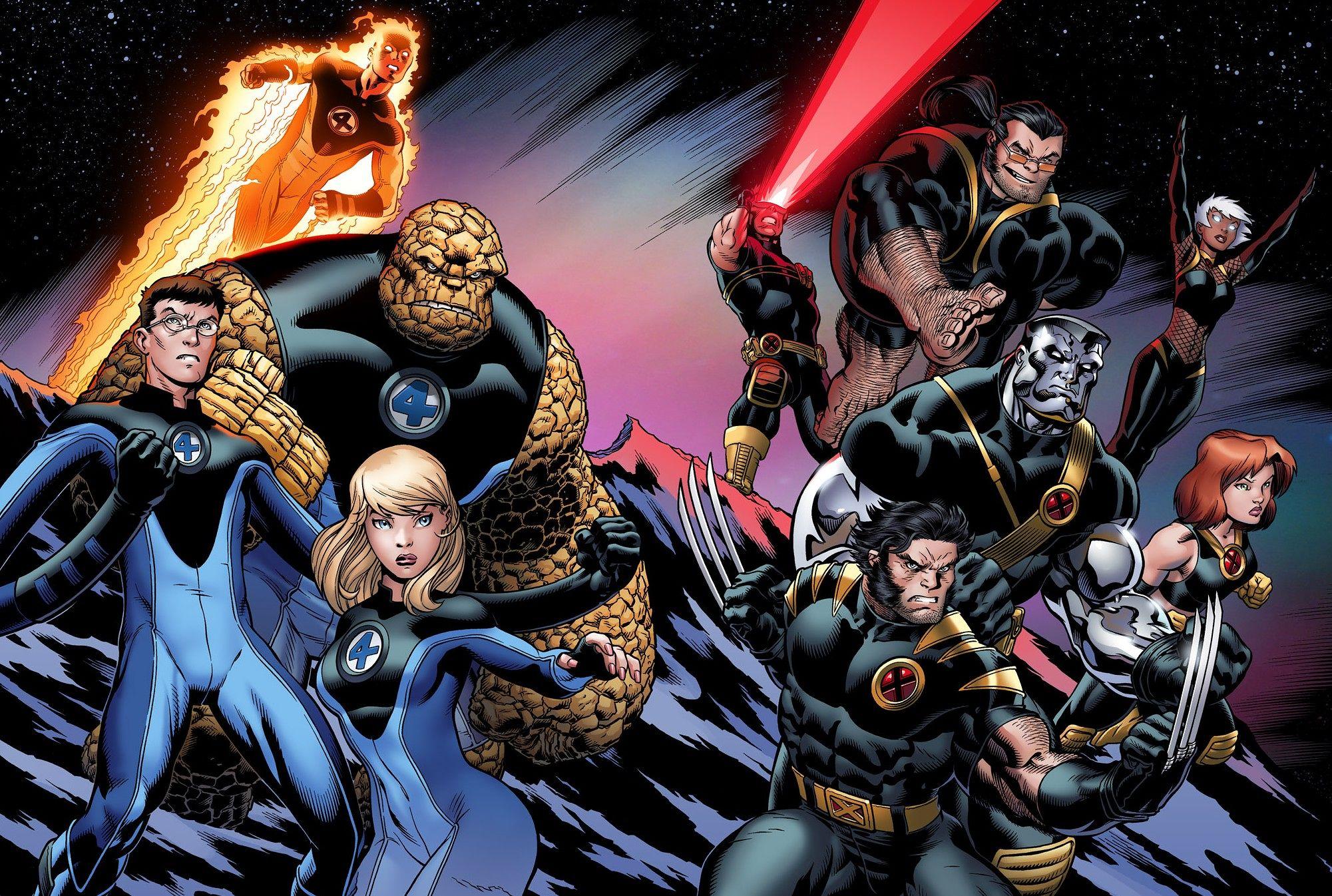 Hãng Fox trả lại 'Fantastic Four' cho Marvel để làm 'X-Men'
