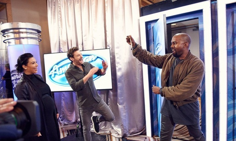 Kanye West bất ngờ thành thí sinh dự thi American Idol