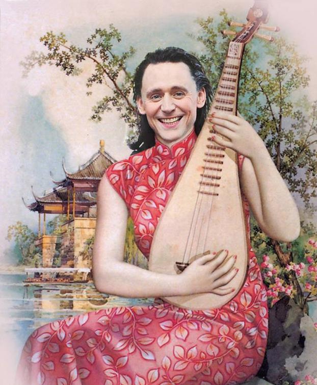 Khi Thor, Loki và Sherlock diện sườn xám Trung Hoa