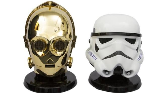Độc đáo như cặp loa Bluetooth dành cho fan phim Star Wars