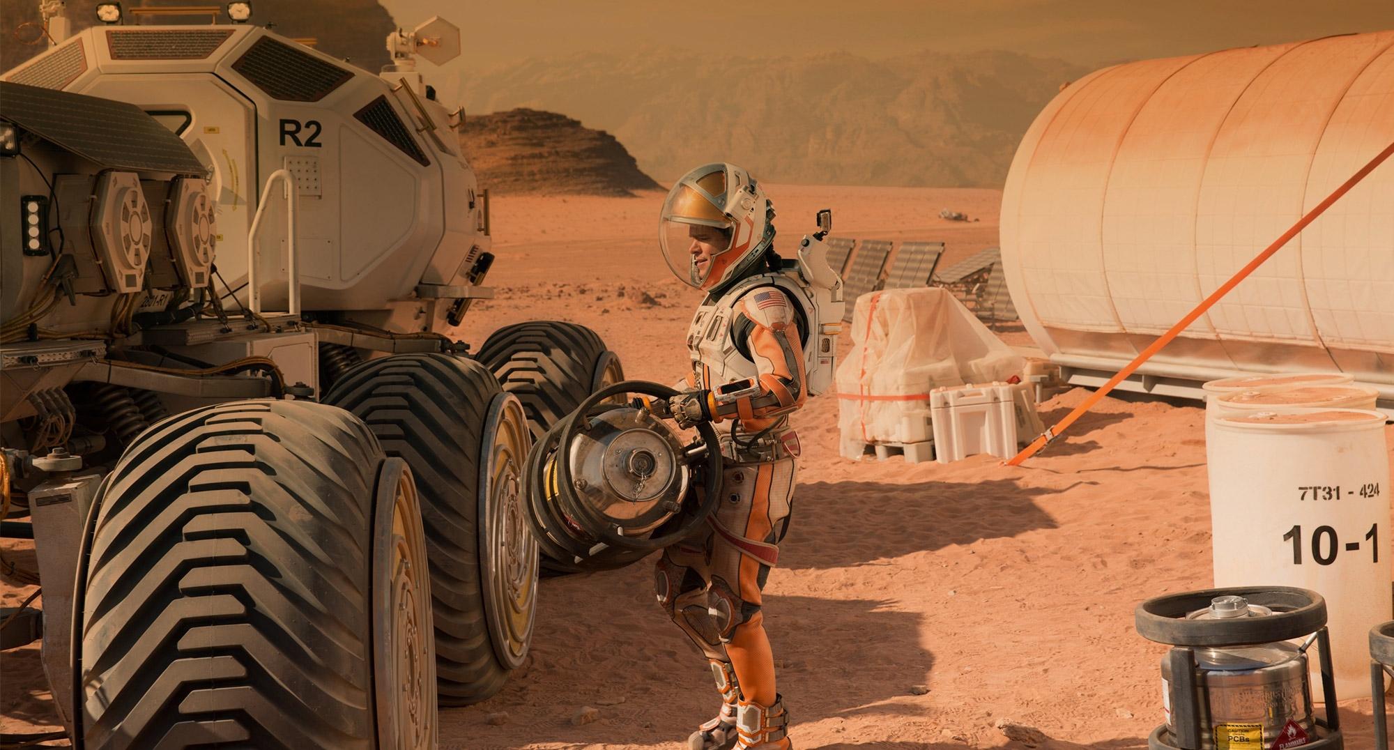 'The Martian' lập kỷ lục doanh thu phòng vé Bắc Mỹ tháng 10