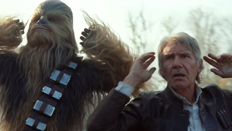 "Trailer mới của 'Star Wars 7' tạo ""cơn sốt"" trên Youtube"