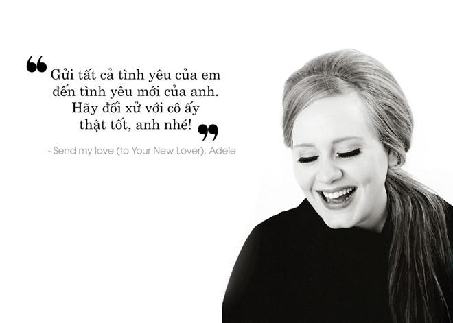 10 câu hát làm tan nát mọi trái tim của Adele