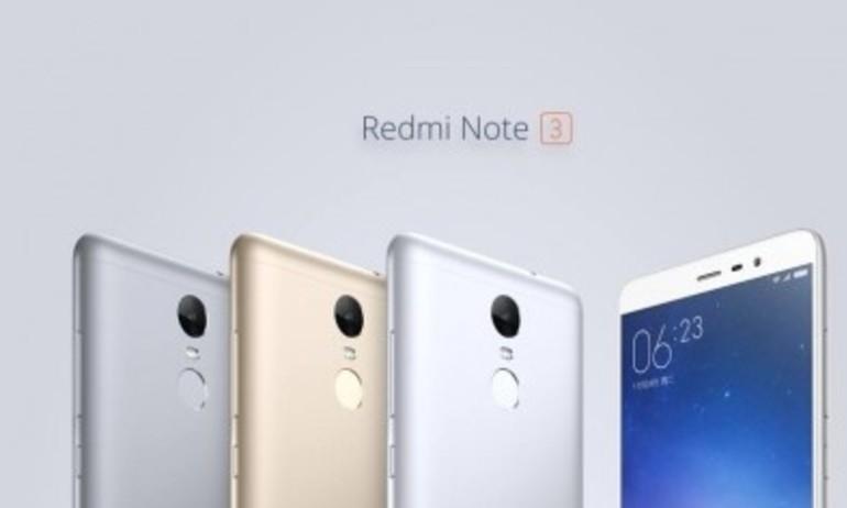 Xiaomi Redmi Note 3: Smartphone giá siêu rẻ, cấu hình khủng, cảm biến vân tay