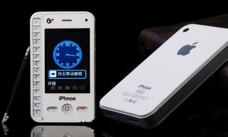 """4 chiếc điện thoại nhái iPhone """"kì cục"""" nhất quả đất"""