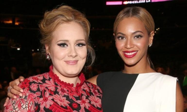 """Adele bác bỏ tin đồn tỏ thái độ """"chảnh"""" với Beyoncé"""