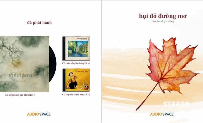 """Audio Space ra mắt album """"Bụi đỏ đường mơ"""""""