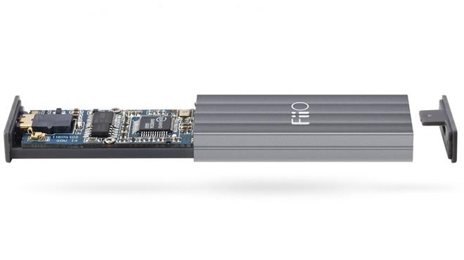 Fiio K1 ra mắt: DAC kiêm ampli di động siêu nhỏ, không cần sạc