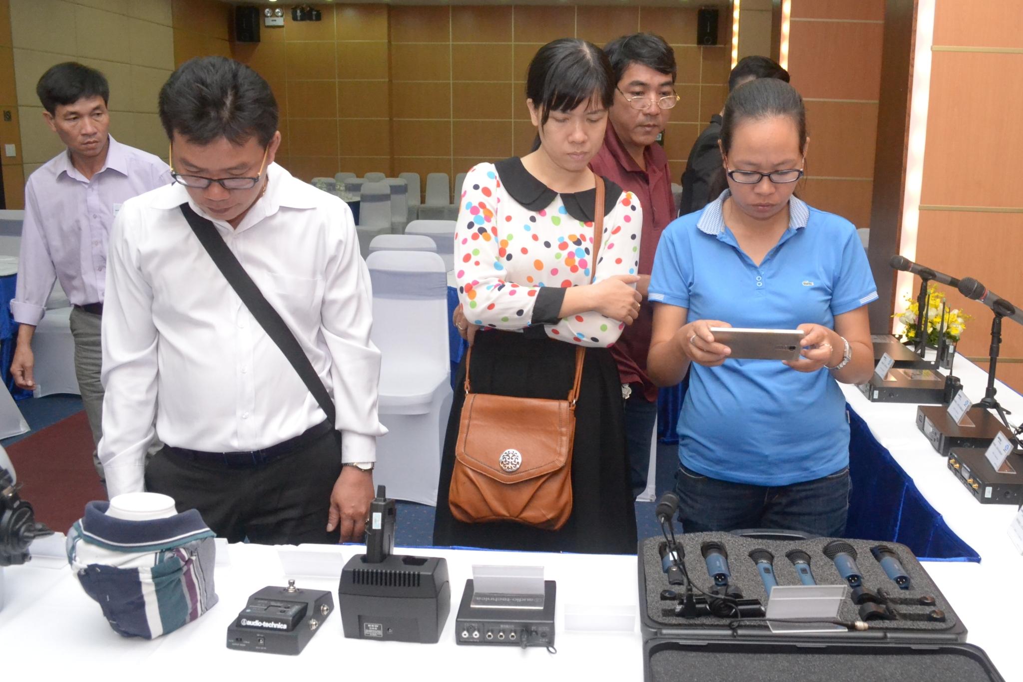 Trương Lê chính thức phân phối dòng sản phẩm Micro của Audio Technica