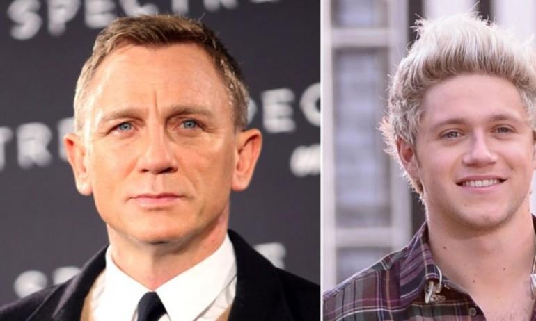 Daniel Craig: Niall Horan của One Direction sẽ là James Bond tuyệt vời!