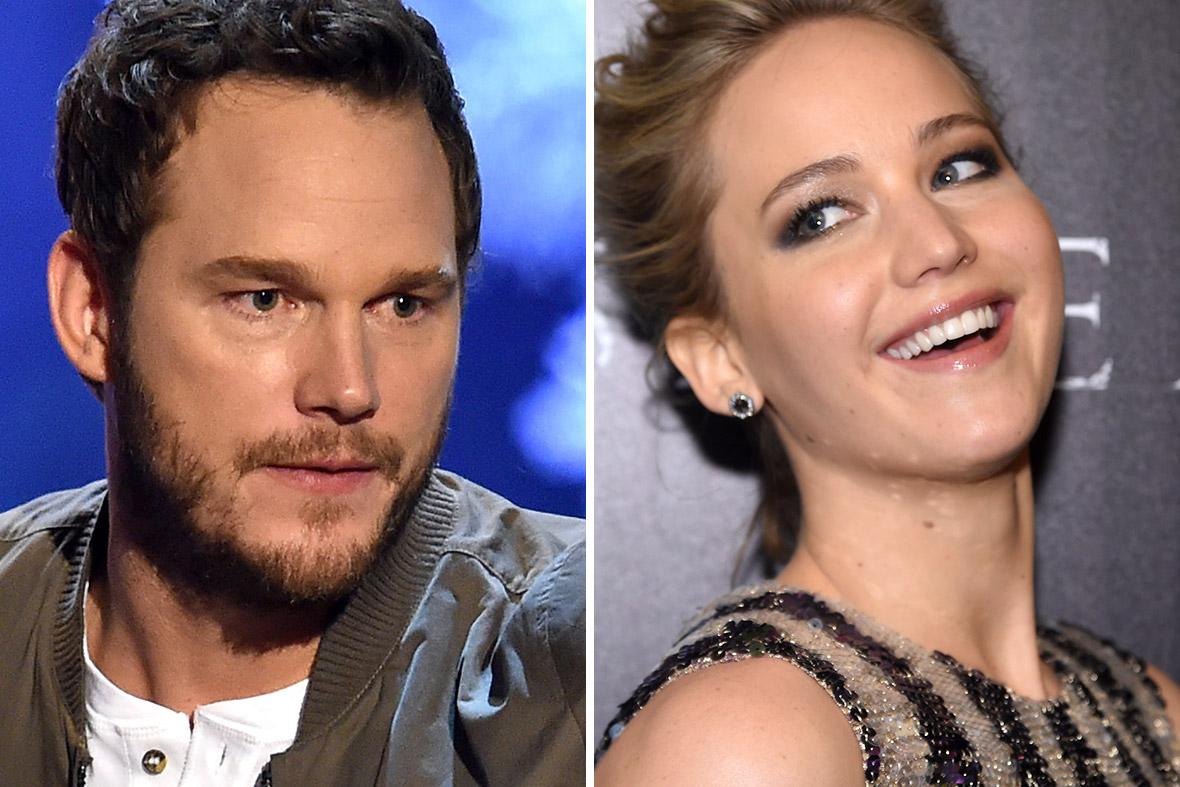Jennifer Lawrence mượn rượu để đóng cảnh 18+ với Chris Pratt