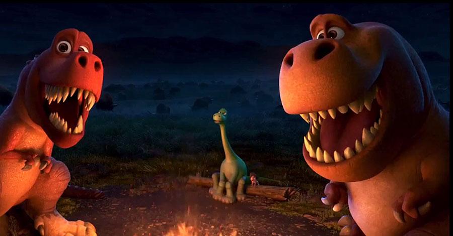 """Lộ diện các chú khủng long siêu """"khủng"""" của 'The Good Dinosaur'"""