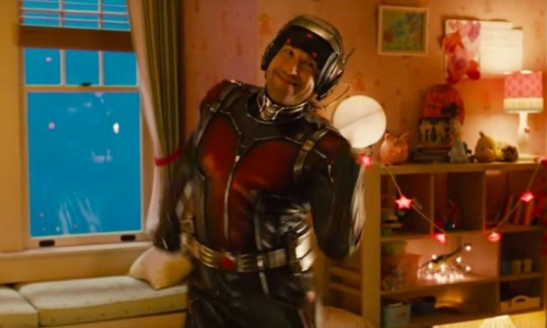 """Siêu anh hùng Ant-Man """"quẩy"""" cực dẻo ở hậu trường"""