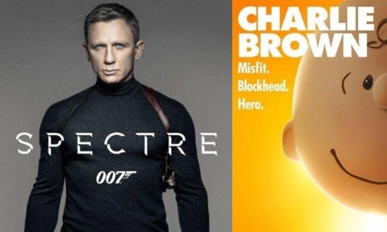 'Spectre' thống trị doanh thu phim tháng 11 dù bị chê bai