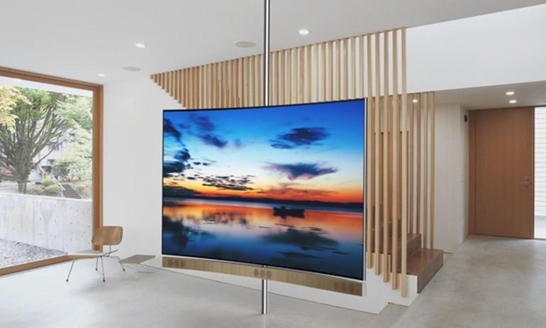 TCL hé lộ TV màn hình cong 110 inch sử dụng công nghệ HDR