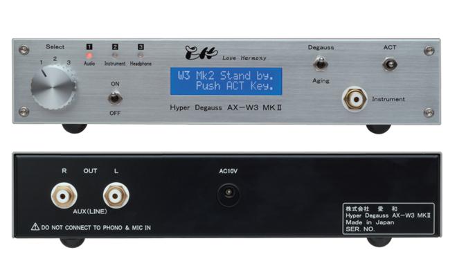 Love Harmony Hyper Degaubiss AX-W3 MKⅡ – khử từ cho thiết bị audio
