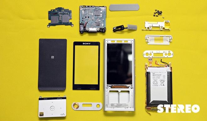 Mổ xẻ Sony Walkman NW-ZX100: hoàn thiện tốt nhưng khó sửa chữa