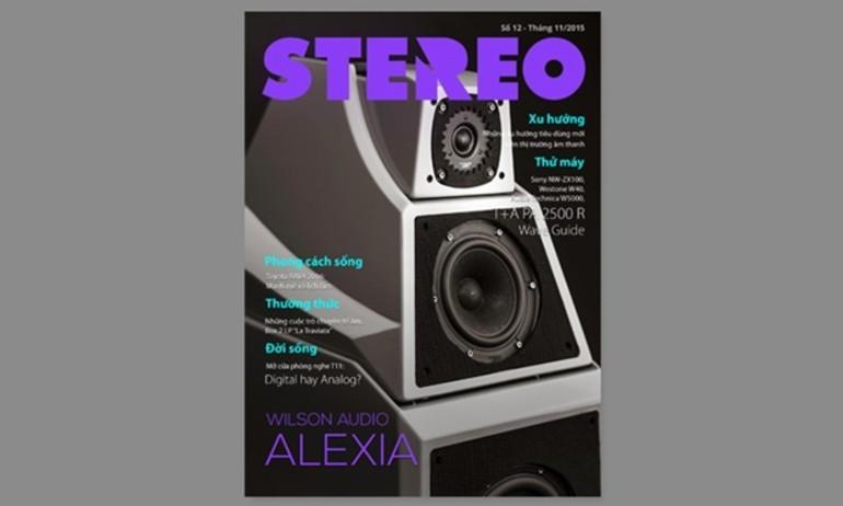 Stereo ra mắt tạp chí số 12 – tháng 11/2015