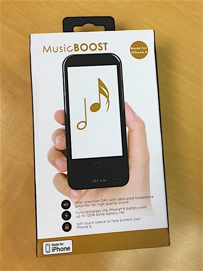Arcam giới thiệu Music BOOST – headamp dạng ốp dành cho iPhone 6