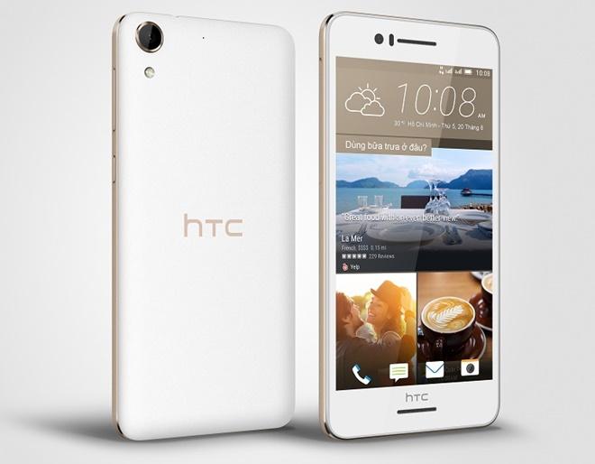 HTC chính thức bán ra điện thoại 2 SIM Desire 826 & 728G