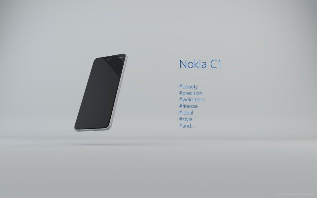 Lộ ảnh Nokia C1 chạy cả Android và Windows 10 Mobile