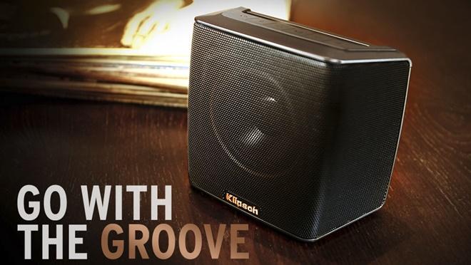 Klipsch ra mắt loa di động Groove, thiết kế cổ điển, giá 149USD