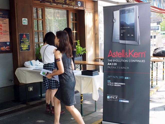 Astell & Kern AK320 chính thức ra mắt: có femto clock, giá 40 triệu