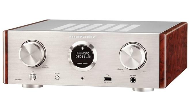 Marantz HD-AMP1 – ampli class D, tích hợp DAC giải mã DSD, giá 26 triệu đồng