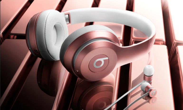 Theo xu hướng, tai nghe Beats mới cũng có thêm màu Rose Gold