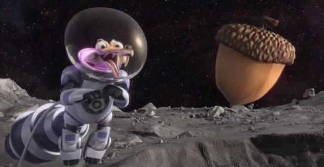 Sóc Scrat lạc bước ngoài không gian trong 'Ice Age: Collison Course'