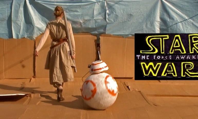 """Trailer Star Wars phiên bản """"con nhà nghèo"""" cực sáng tạo"""