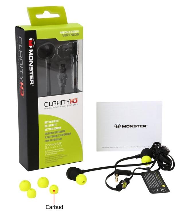 Monster giới thiệu ClarityHD: thay thế tai nghe điện thoại